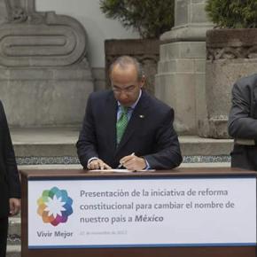 Felipe Calderón et sa dernière initiativepolitique