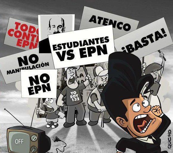 « EPN vs YoSoy132 ». quchocartones.blogspot.com, 2012.