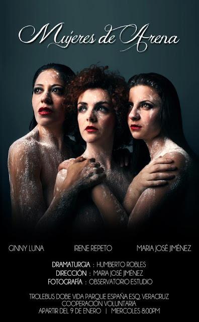 « Mujeres de arena » affiche 2013